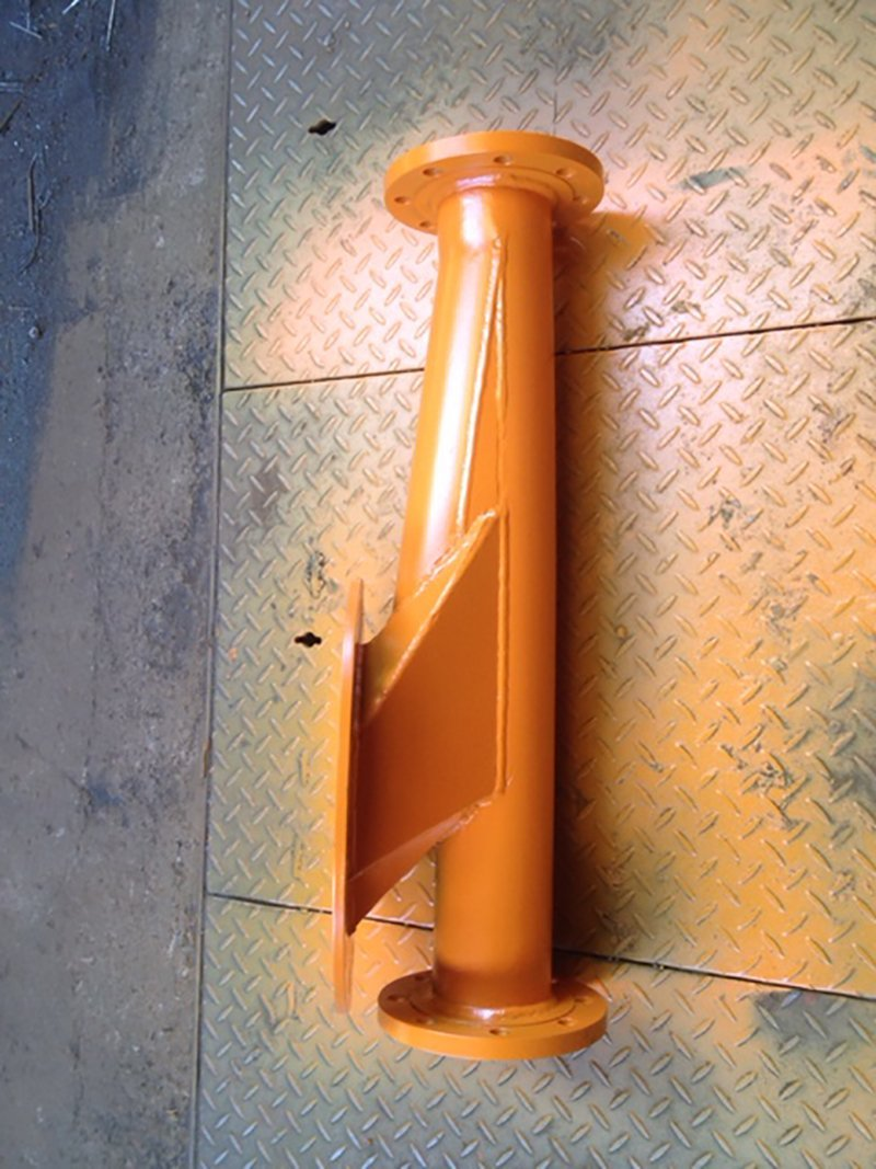 pipe wall mounted