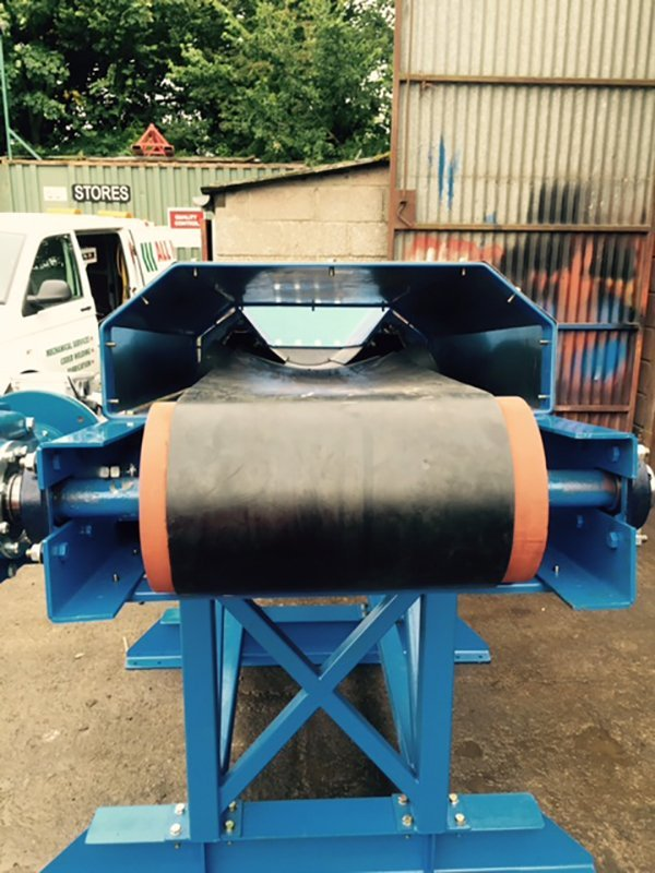 equipment after welding