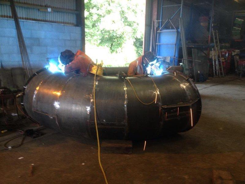 2 welding specialists
