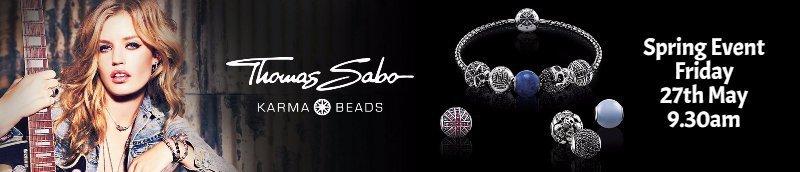 Thomas Sabo Karma Beads banner