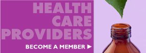Health Care Providers: Become a member