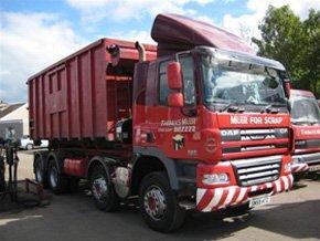 Car RecyclingAll Steels - Kirkcaldy, Glenrothes, Leven - Thomas Muir (Haulage) Ltd.