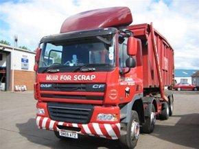 Aluminium - Kirkcaldy, Glenrothes, Leven - Thomas Muir (Haulage) Ltd.