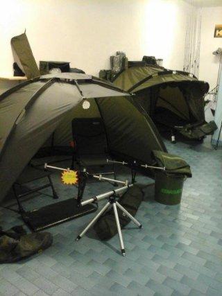 attrezzature campeggio pesca