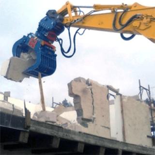 Demolizione edifici civili