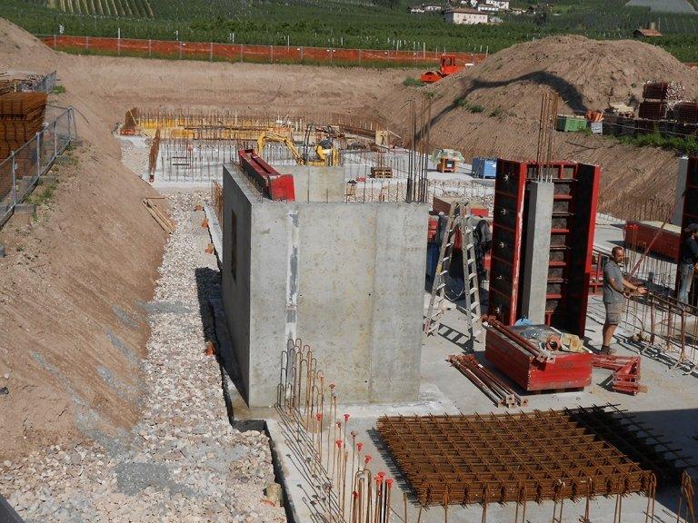 muri calcestruzzo dinamos
