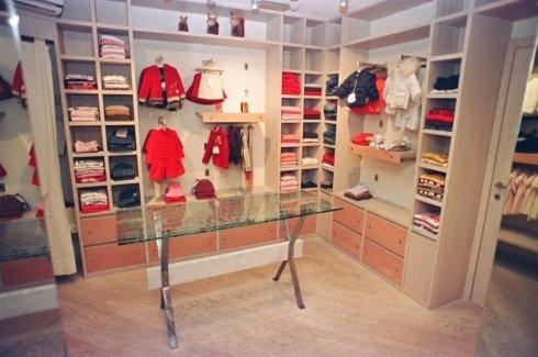 Negozio abbigliamento su misura in Rovere sbiancato, Novara.