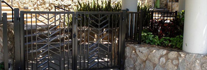 Ornamental fence in Honolulu