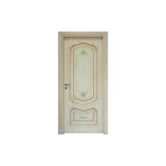 una porta bianca stile shabby chic