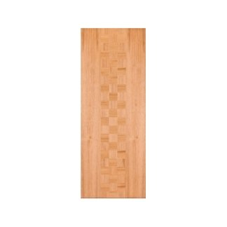 pannello in pino, motivo a scacchi