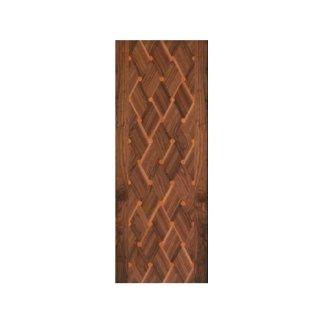 pannello legno con motivo a intreccio