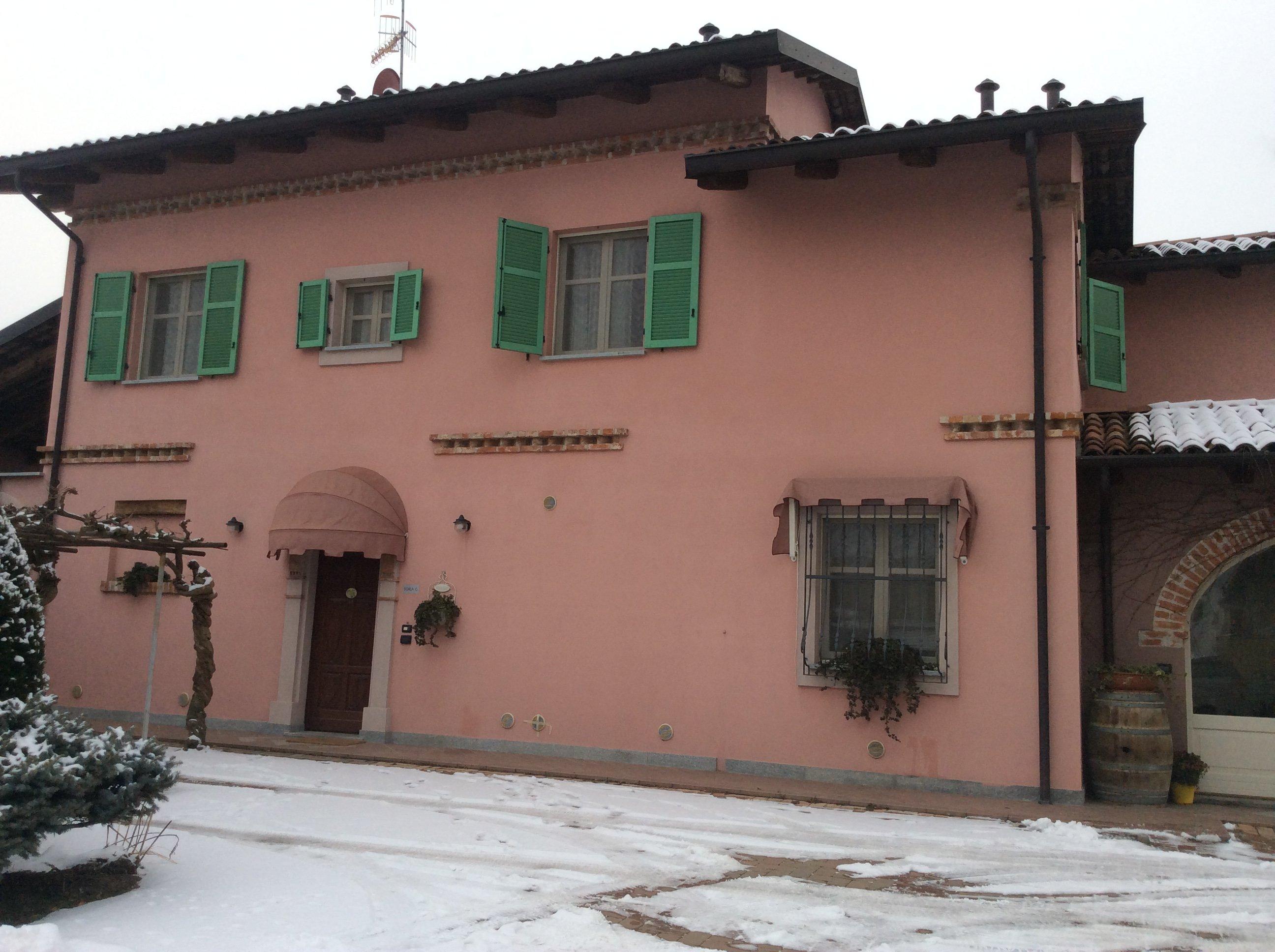 Vista dall'esterno dell'affittacamere Casa Biglino
