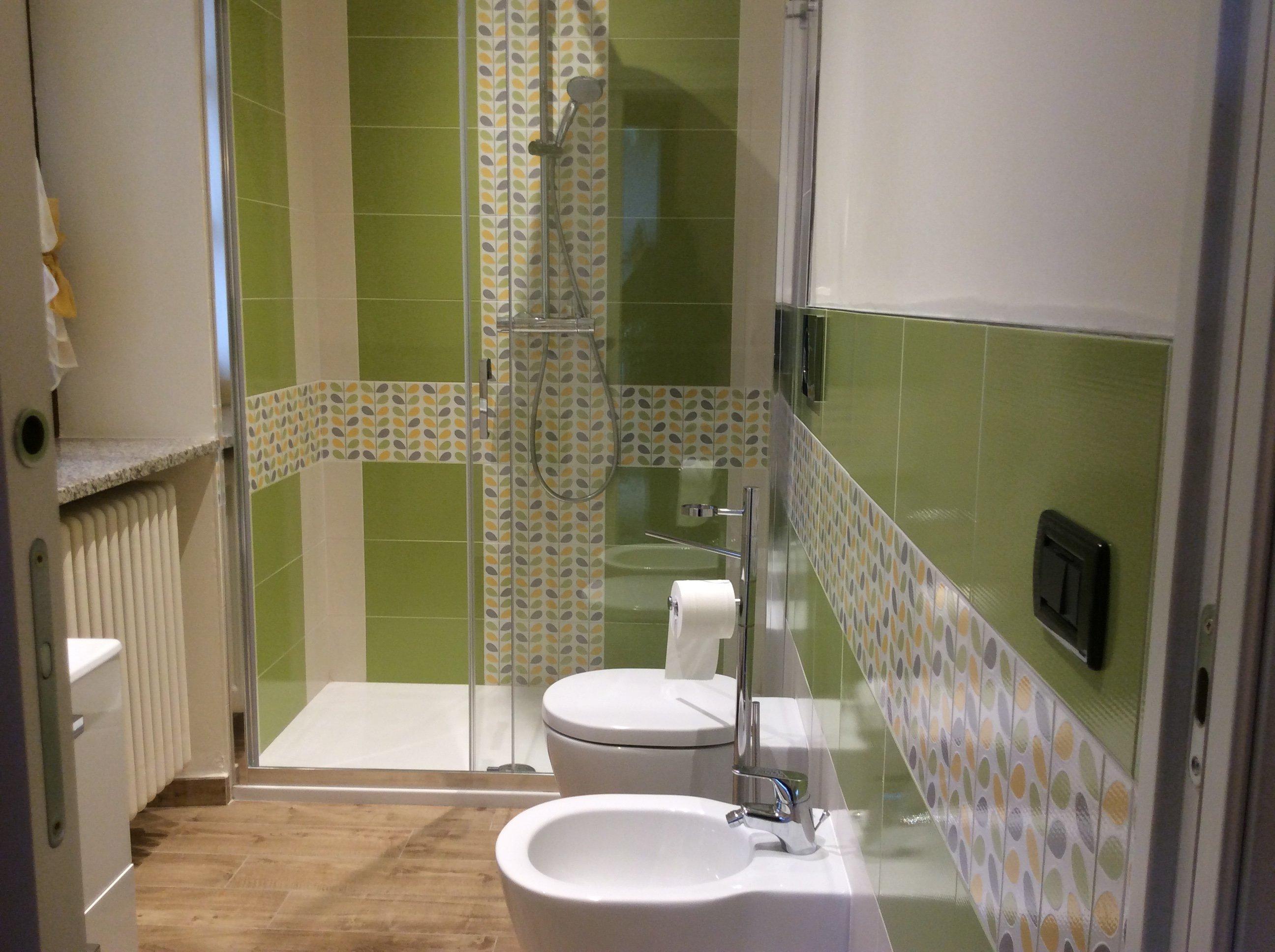 servizi igienici della camera attrezzata
