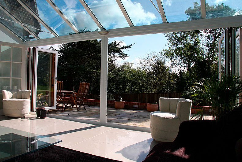 conservatory white colour