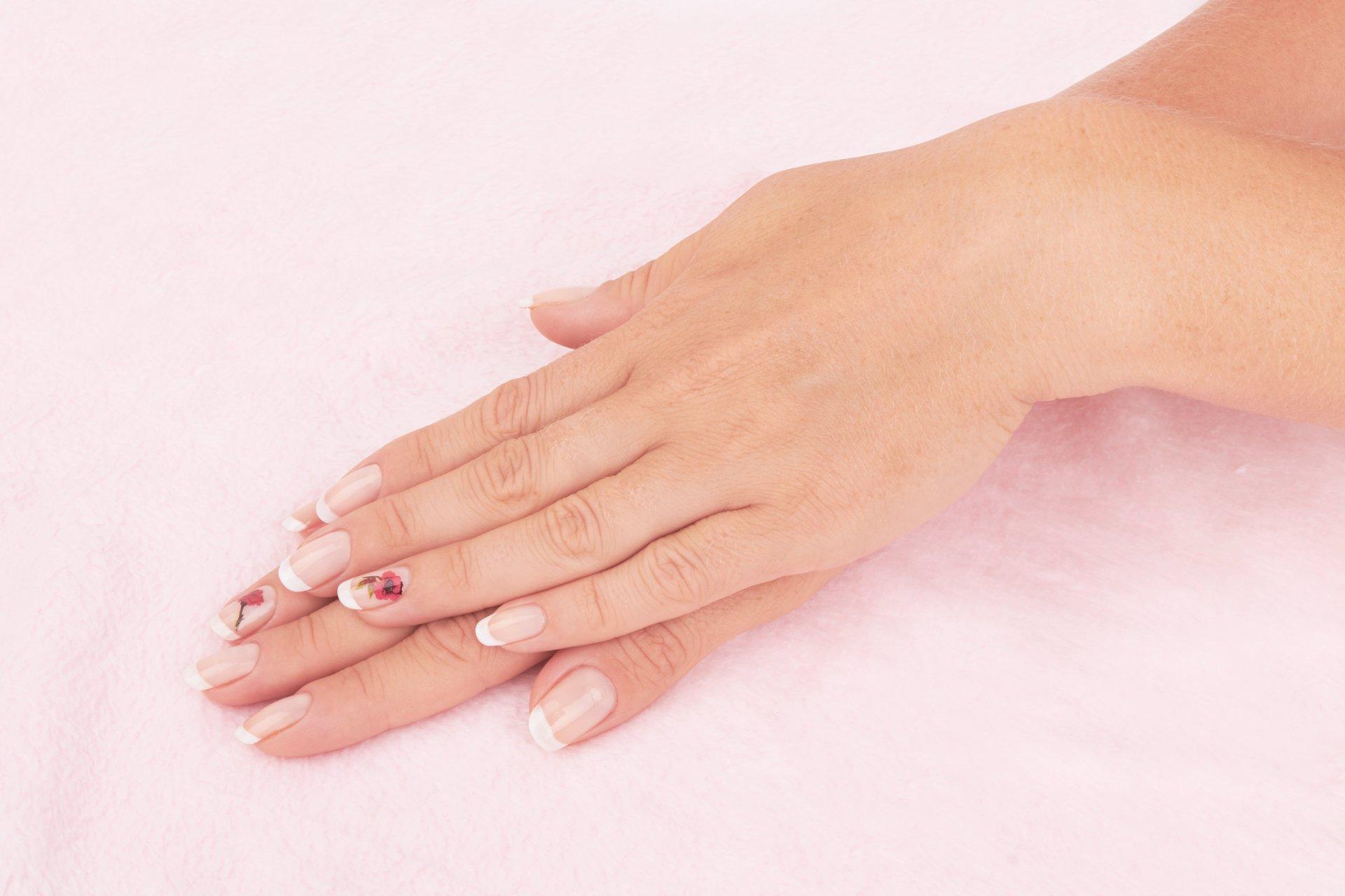 Manicure services at our salon