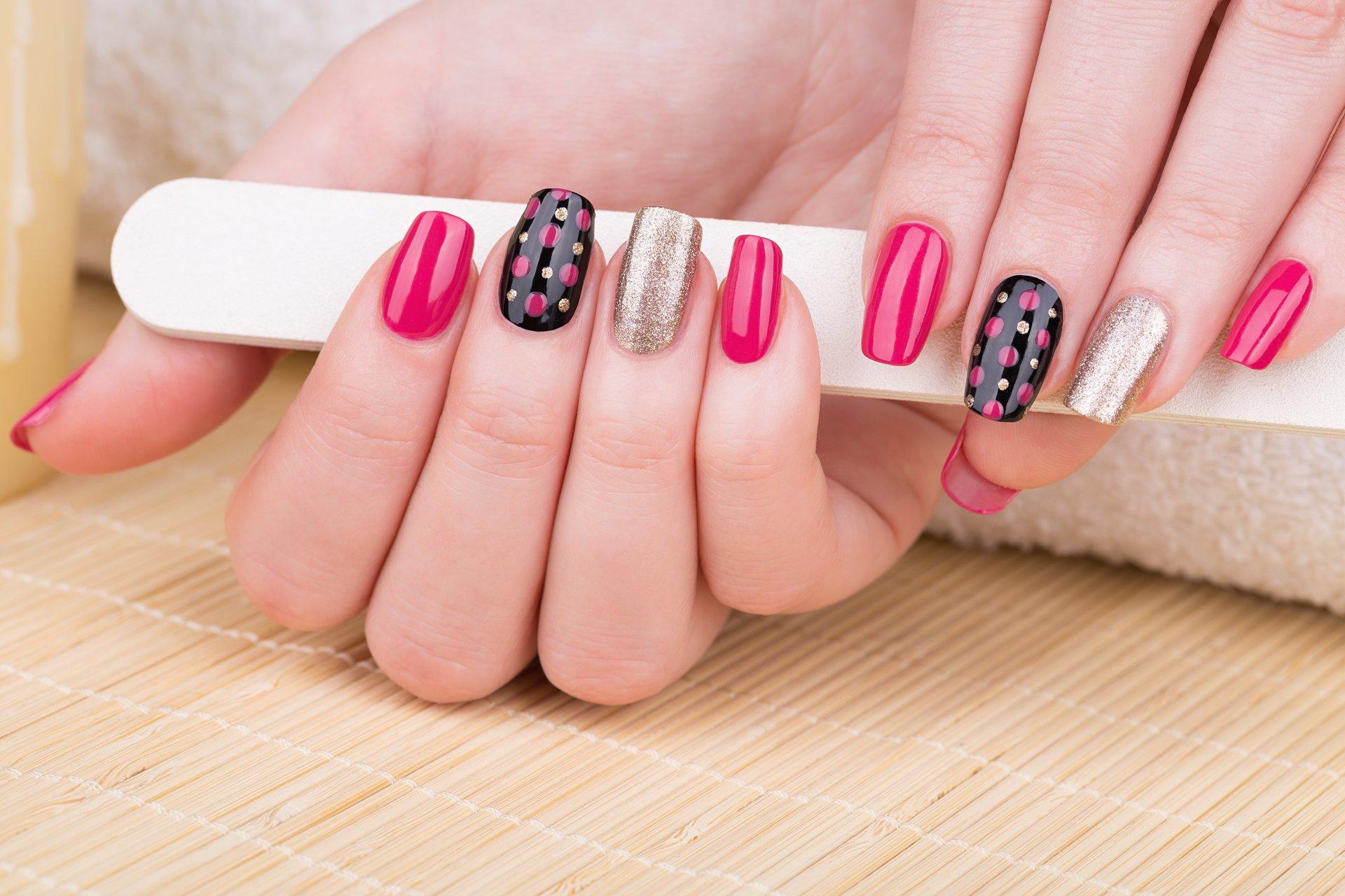 Beautiful nail art work