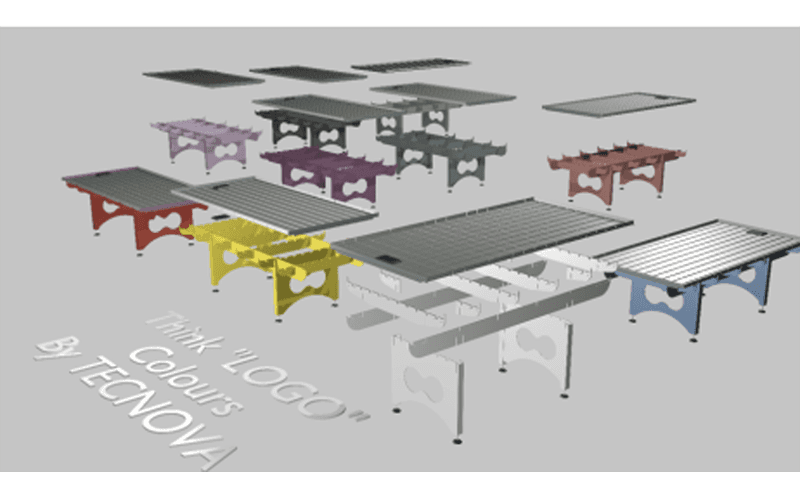 Ral coloured benches