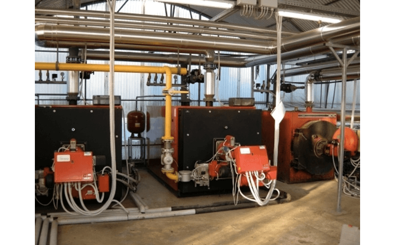 Boiler room installation