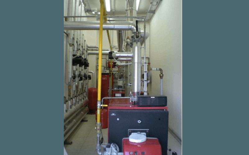 Boiler rooms