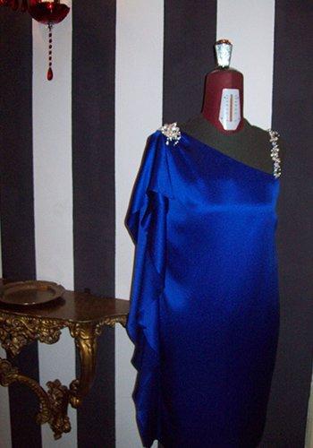 Un abito azzurro