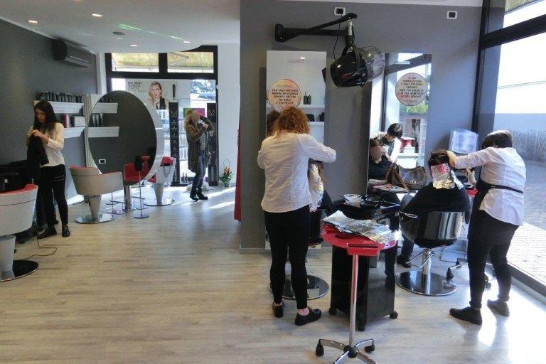 staff parrucchiere babi treviso
