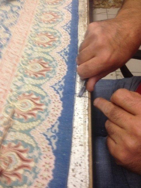 restauro tappeti antichi e persiani