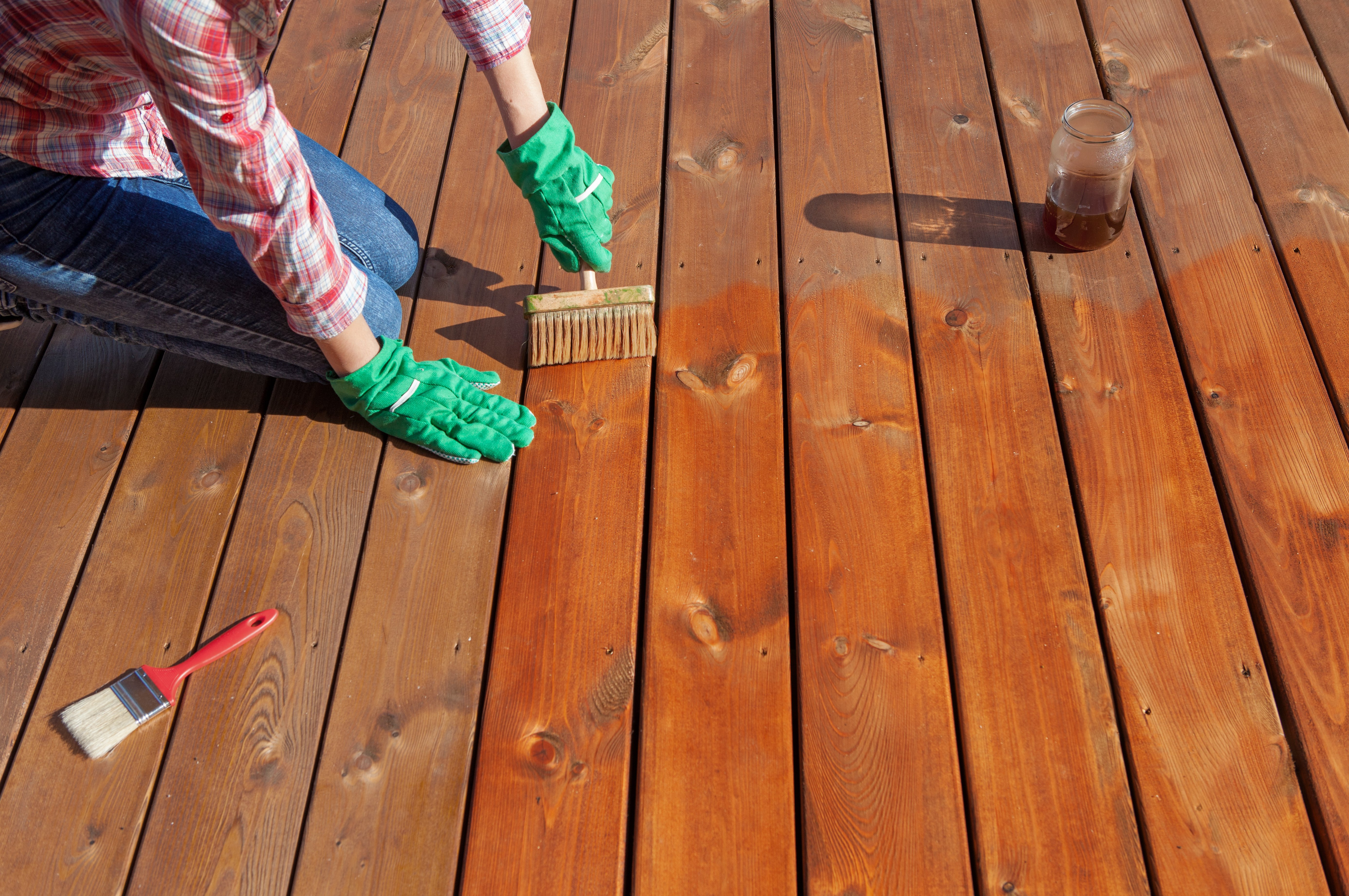 deck painting contractor Glastonbury, CT
