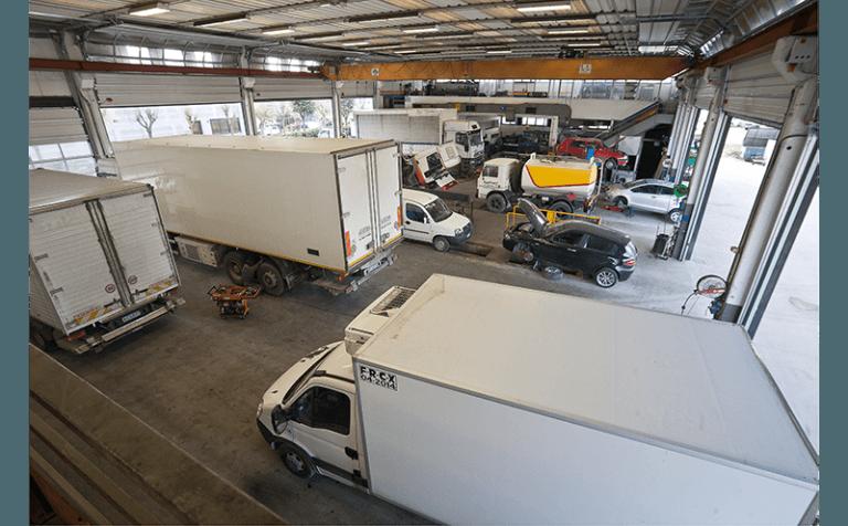 revisione generale di autoveicoli industriali