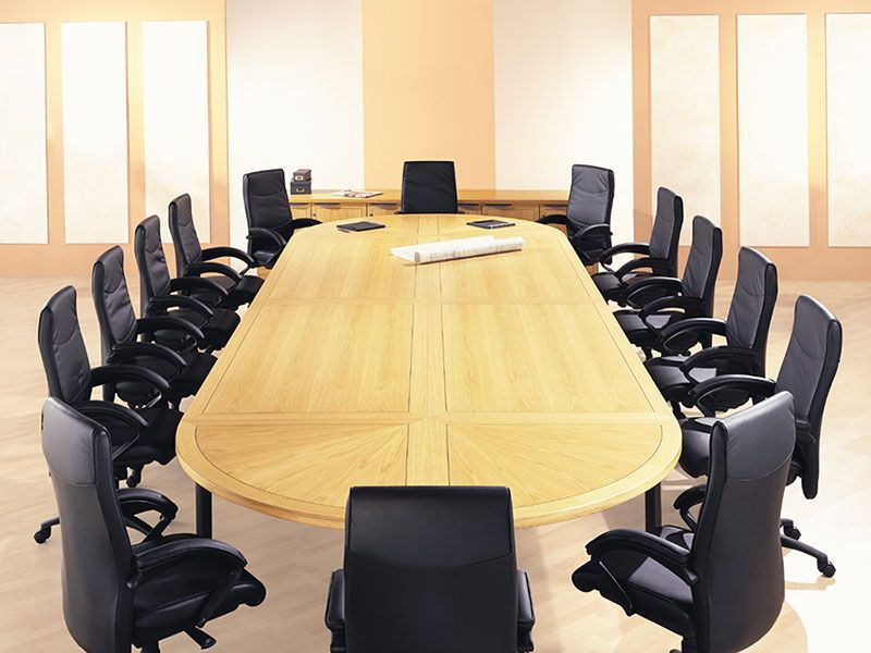 Office Furniture Clearance Swansea - Boardroom Tables and Chairs