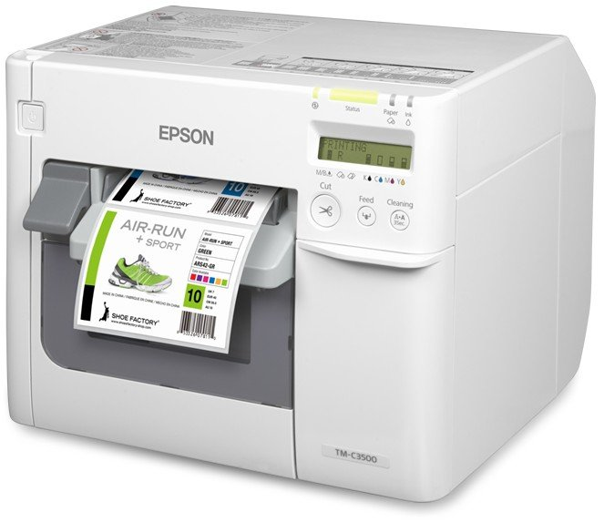 We buy Epson thermal barcode label printers
