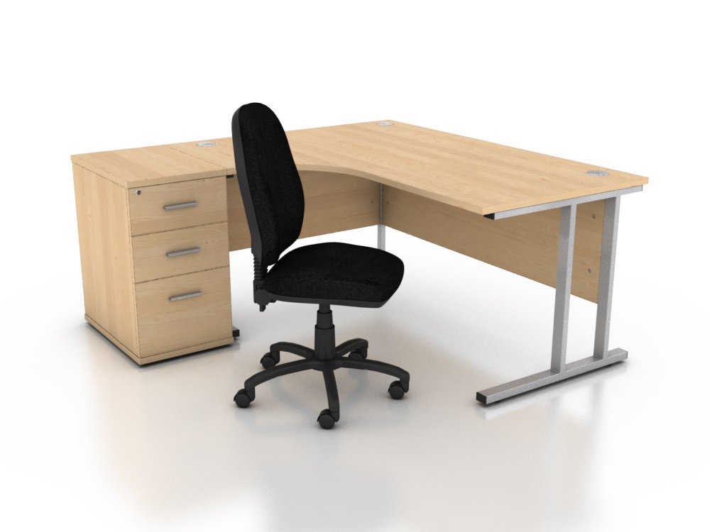 We Sell Used Office Furniture in Wolverhampton - Desks and Chairs