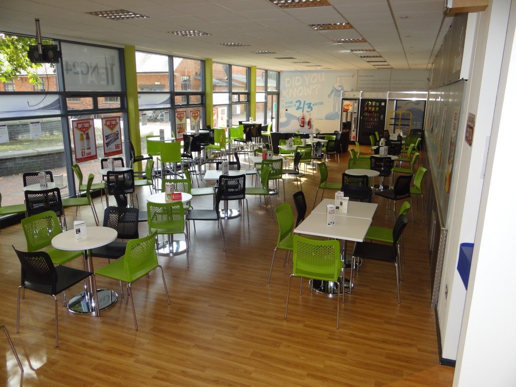 Canteen Furniture Clearance in Wolverhampton - Tables and Chairs