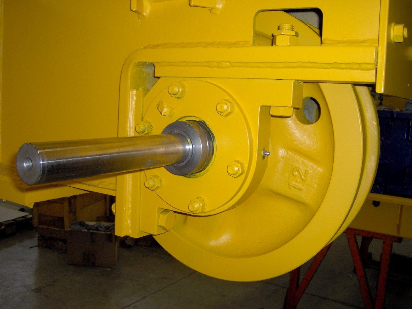 Components for lifting equipments in Beinasco