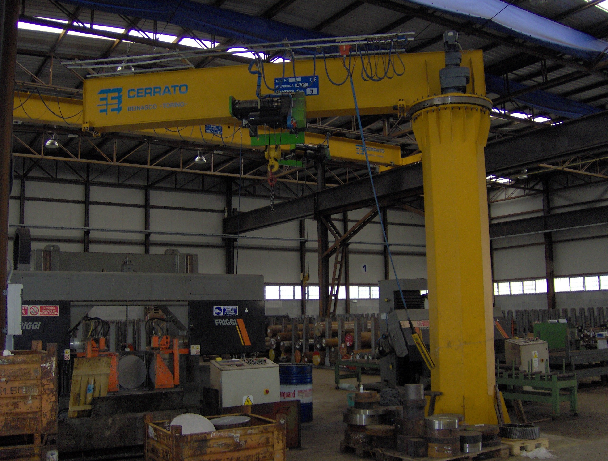 Jib crane in Beinasco