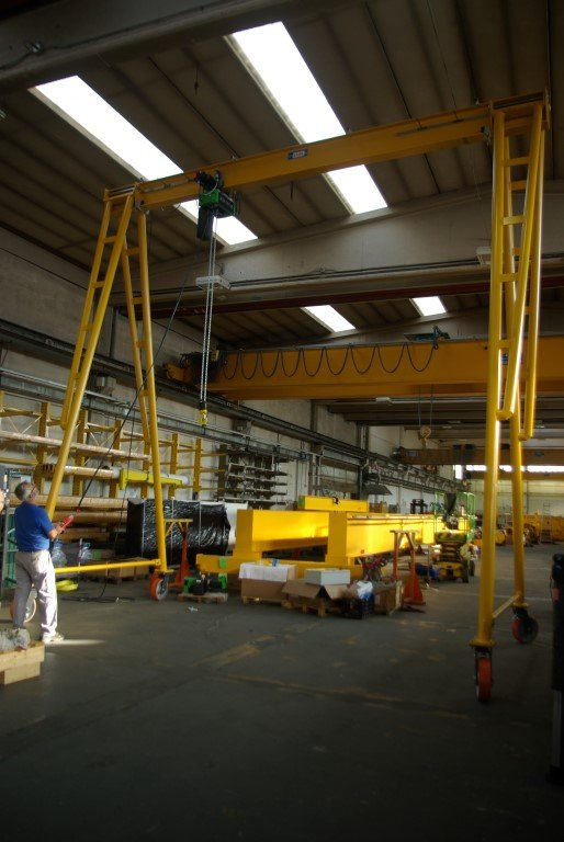 Gantry Cranes in Cerrato