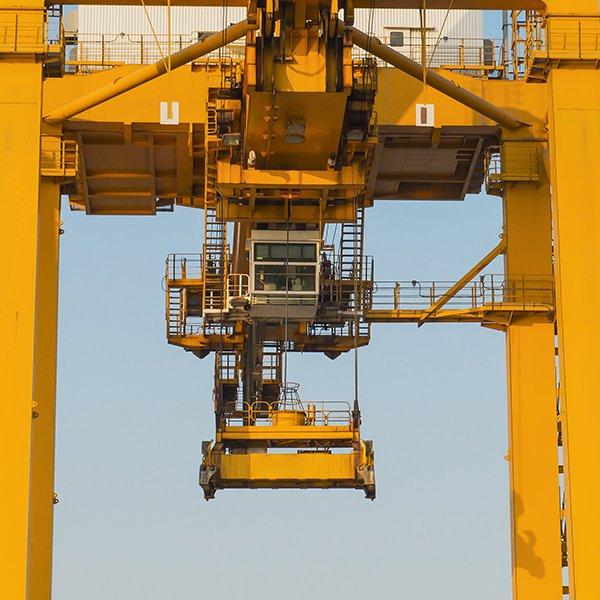 Bridge cranes in Beinasco