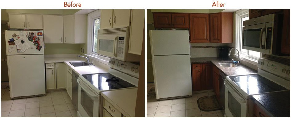 Kitchen Cabinet Resurfacing Gallery 3 | Premier Kitchen - Serving ...