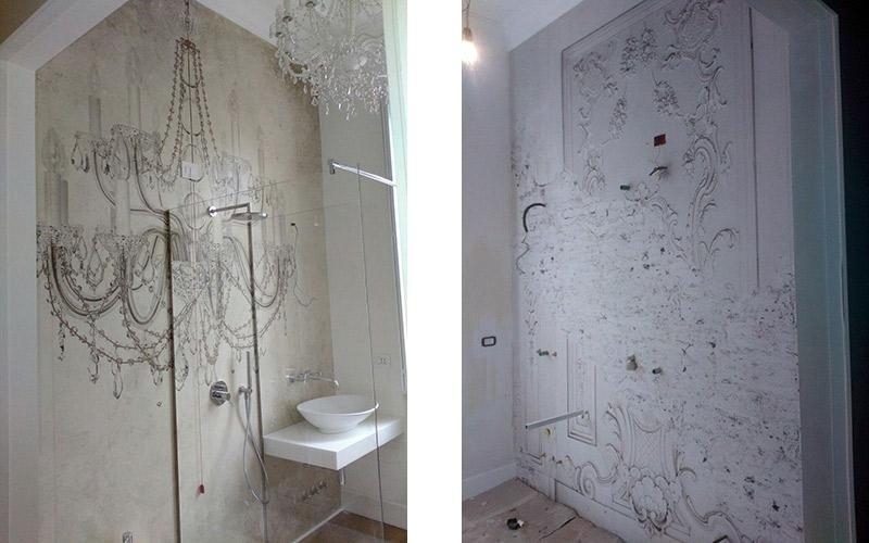 Decorazione pareti bagno