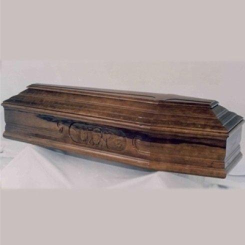 bara funebre  in legno