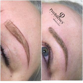 microblading eyebrows semi permanant makeup in northlondon muswellhill kayandkompany beauty salon in n10 n22