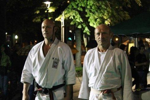 Esibizione Festa dello Sport- Bergamo- Maestri Ranucci e Fratus