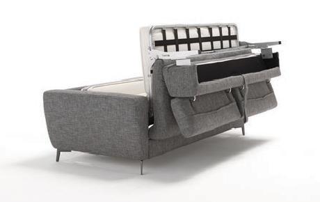 ADAM è un divano letto matrimoniale