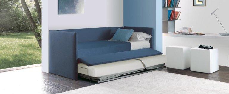 letto singolo estraibile
