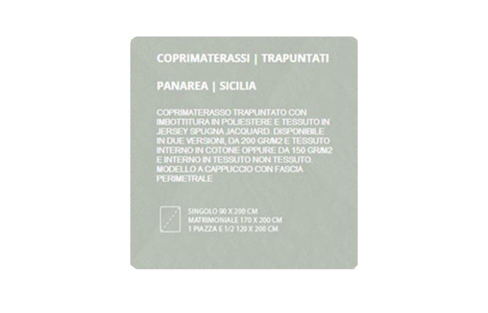 COPRIMATERASSI TRAPUNTATI - PANAREA SICILIA