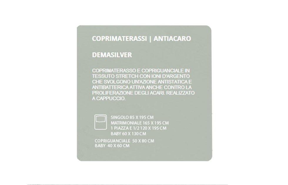 COPRIMATERASSI ANTIACARO - DEMASILVER