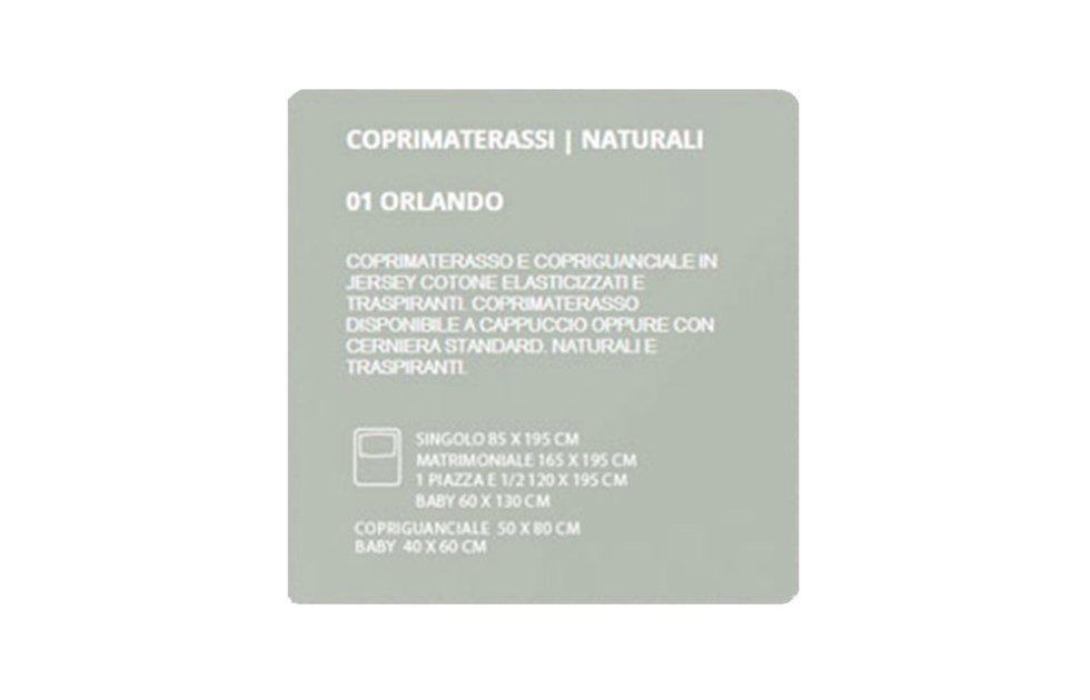 COPRIMATERASSI NATURALI - ORLANDO