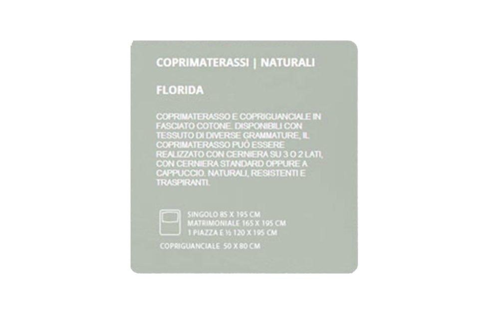 COPRIMATERASSI NATURALI - FLORIDA