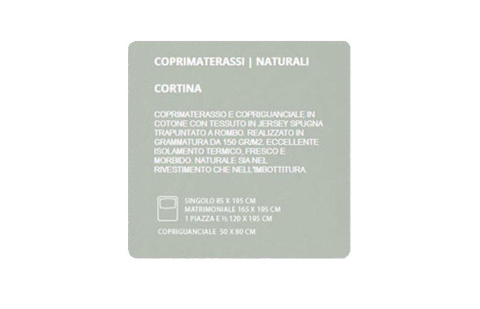 COPRIMATERASSI NATURALI - CORTINA