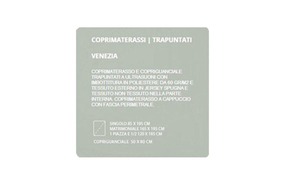 COPRIMATERASSI TRAPUNTATI - VENEZIA