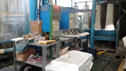 macchinarii industriali per trattamento metalli